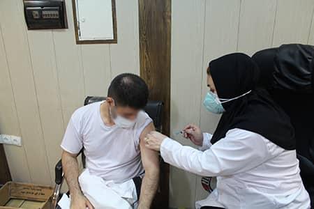تاکنون  ۹۸ درصد زندانیان استان واکسن کووید ۱۹ دریافت کرده اند