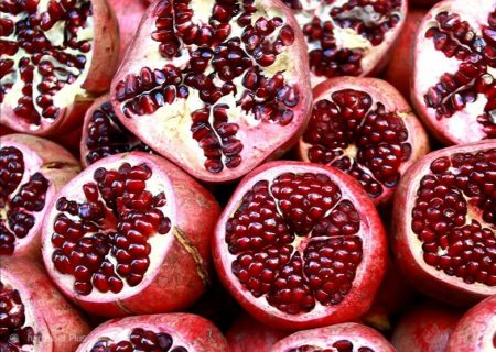 صادرات ۱۰۰ تن انار در ارسنجان