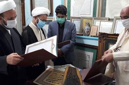 تاکید تولیت حرم مطهر بر احیای هنراسلامی و تجلیل از مفاخر مکتب خوشنویسی شیراز