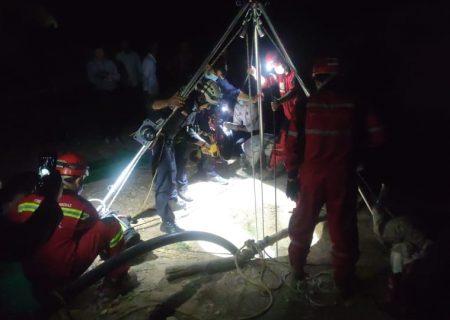 مرگ کارگر مقنی در عمق ۲۰ متری چاهی در شهرستان زرقان