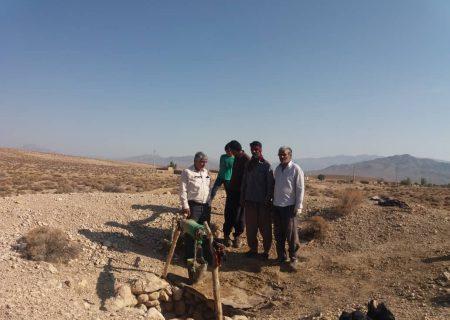 مرمت و بازسازی سه رشته قنات در داراب