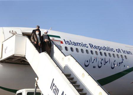پایان سفر رئیس جمهور به فارس