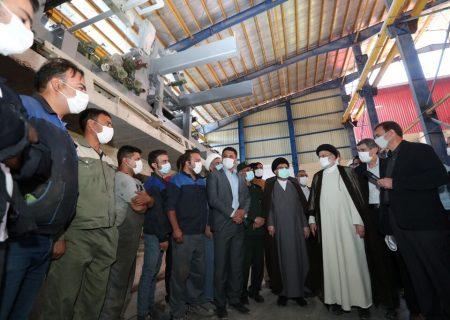 رئیسجمهوری دستور رفع مشکل کارخانه تولید کاغذ فارس را صادر کرد