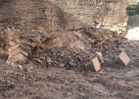 یک سازه قدیمی در بافت تاریخیفرهنگی شهر شیراز کشف شد