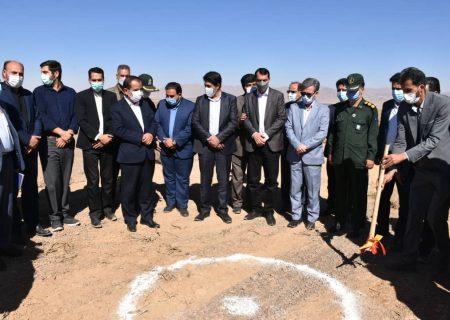 آغاز عملیات اجرایی کارخانه کاشی و سرامیک اسلب در شهرستان آباده