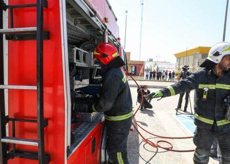 آتش نشانان شیراز بیش از ۱۱ هزار عملیات امداد و نجات انجام دادند